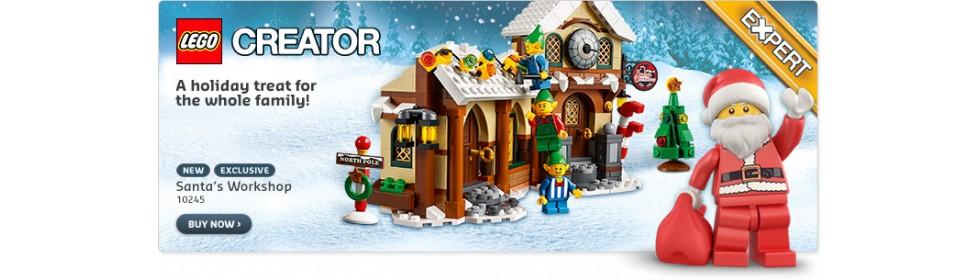 LEGO SANTA WORKSHOP