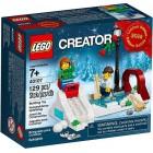 LEGO Winter Skating Scene