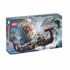 LEGO VIKING SHIP CHALLENGES THE MIDGARD SERPENT