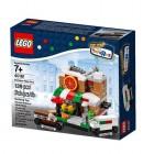 LEGO Bricktober Pizza Place