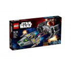 LEGO Vader's TIE Advanced vs. A-Wing Starfighter