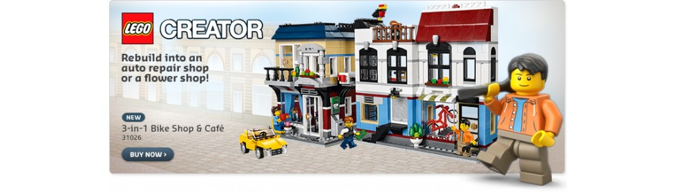 LEGO BIKE SHOP AND CAFE